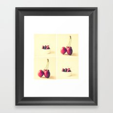 Cherry Kitchen Art Quad Framed Art Print