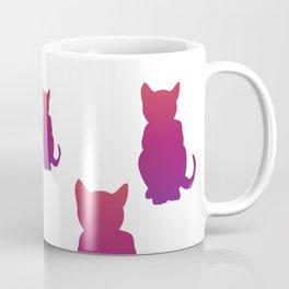 Faded Cat Coffee Mug