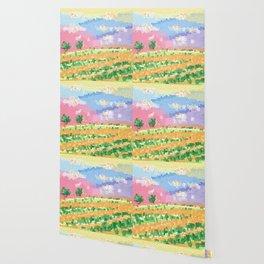 Valley of the Orange Prairie Wallpaper