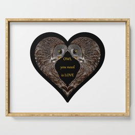 OWL you need is LOVE Serving Tray