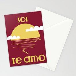 Sun i love you Stationery Cards