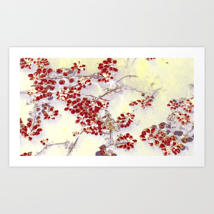 """Red Floaters"" Art Print"