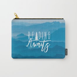 Reading Awaits - Blue Mountains Carry-All Pouch