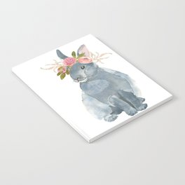 bunny with flower crown Notebook
