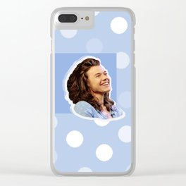 Harry Styles Polka Dot Clear iPhone Case