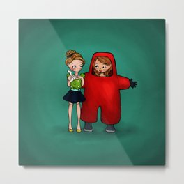 Toxic Friendship Metal Print