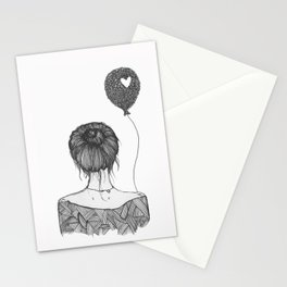 Girl With a Balloon Stationery Cards