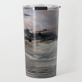 B-17 Flying Fortress - Almost Home Travel Mug