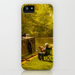 Just Relaxing iPhone Case