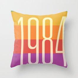 1984 (h) Throw Pillow