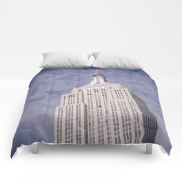 The Empire State Building Comforters