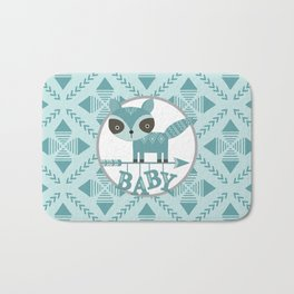 Baby Raccoon Bath Mat