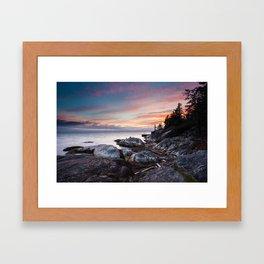 Be Calm Framed Art Print
