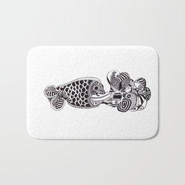 Fish Can Talk  Bath Mat