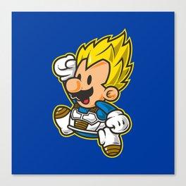Super Jump V Canvas Print