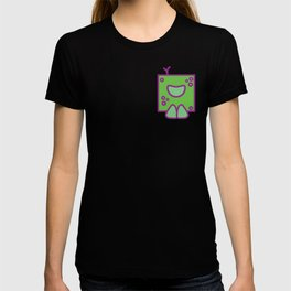 Box Head Green/Purle T-shirt