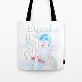 Equality & Balance Tote Bag