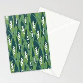 Lily of the Valley Muget Stationery Cards