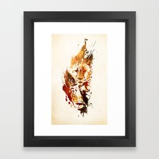 El Guepardo Framed Art Print