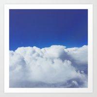 Cloud Porn Art Print