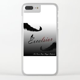 EXCELSIOR | The Raven Cycle by Maggie Stiefvater Clear iPhone Case