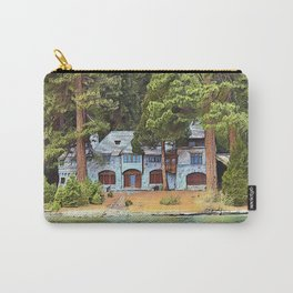 Vikingsholm Emerald Bay Lake Tahoe Carry-All Pouch
