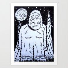 Bigfeet Art Print