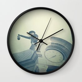 The Night Watchman Wall Clock