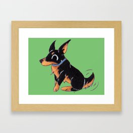 Dobie Framed Art Print