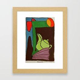 Land of Milk & Honey Framed Art Print