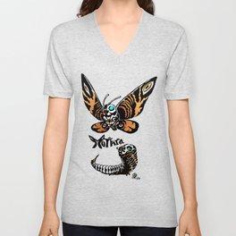 Mothra Kaiju Print Unisex V-Neck