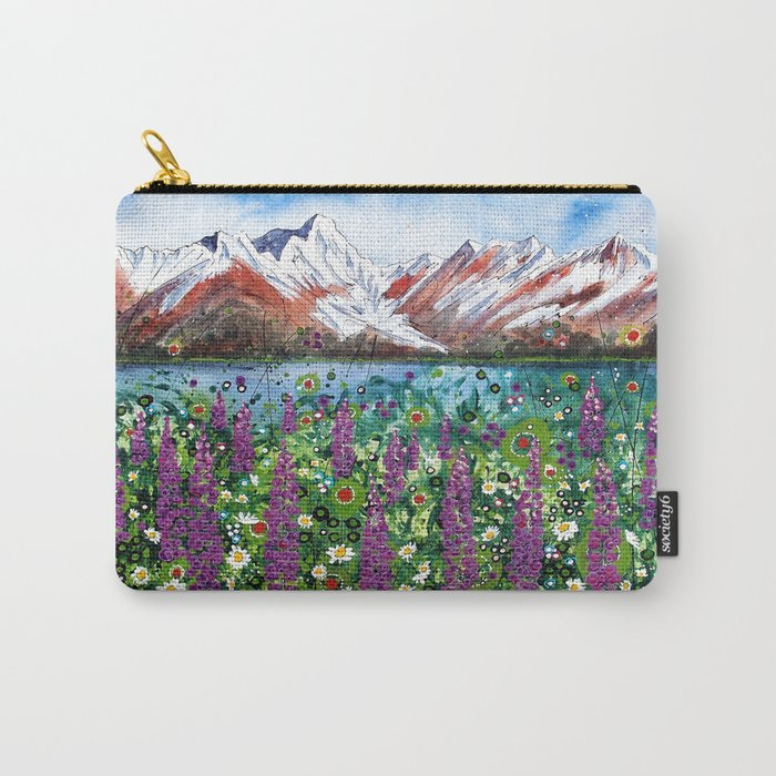 Carpathian in Lupine Carry-All Pouch