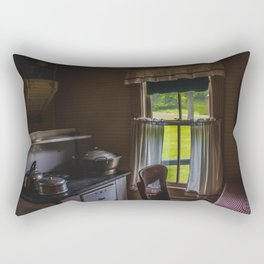 Kitchen of Days Gone By Rectangular Pillow