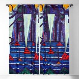 Jacoba van Heemskerck Composition 23 Blackout Curtain