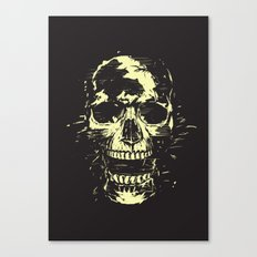 Scream (gold) Canvas Print