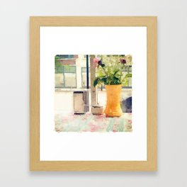 The Cafe Framed Art Print