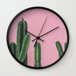 Vintage Cactus Wall Clock