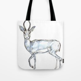 Antelope, watercolor Tote Bag