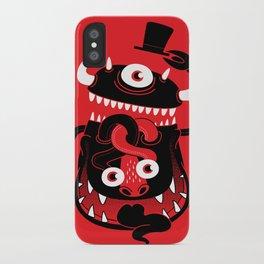 Mister Monster iPhone Case