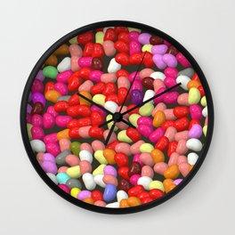 Funny Jelly Mix 1 Wall Clock