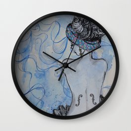 Man Ray inspired Wall Clock