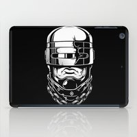 robocop iPad Cases featuring Hey, Robocop! by OneAppleInBox