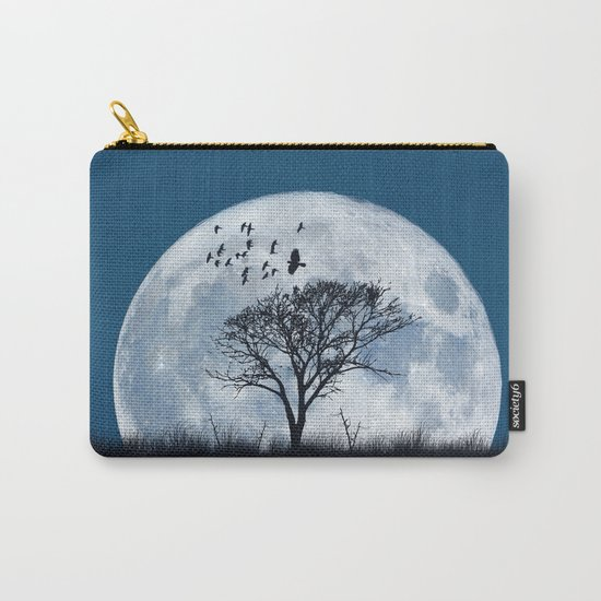 When the moon speaks (part IV) Carry-All Pouch