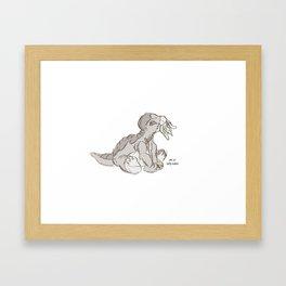 Littlefoot Framed Art Print
