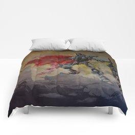 Chrome Knight Comforters