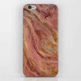 Natural Sandstone Art, Valley of Fire - 2 iPhone Skin