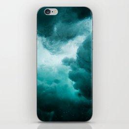 Underwater perturbation iPhone Skin