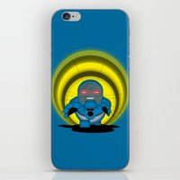 returns iPhone & iPod Skins featuring Chubbyseid Returns  by AWOwens