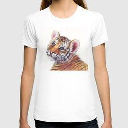 Tiger Cub Watercolor T-shirt
