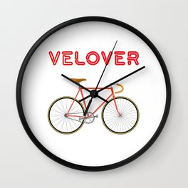 VeLover – Racer 2 – June 12th – 200th Birthday of the Bicycle Wall Clock